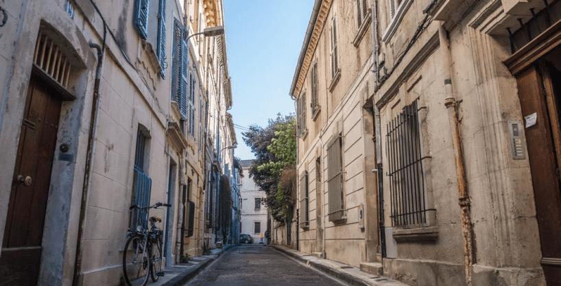 Rue Baraillerie à Avignon